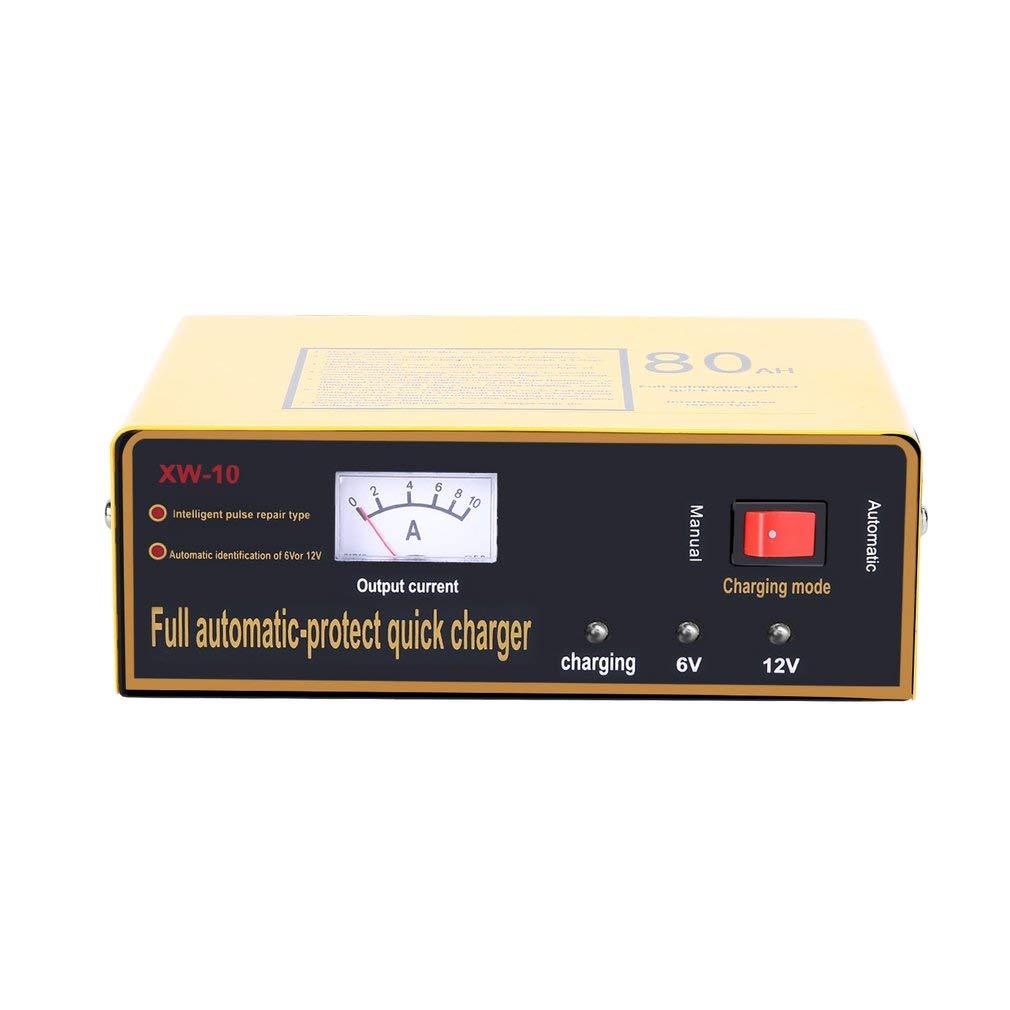 12V 80AH 140W automatico automobile intelligente caricabatteria di impulso negativo leoboone Caricabatterie completa rapido automatico di protezione 6V