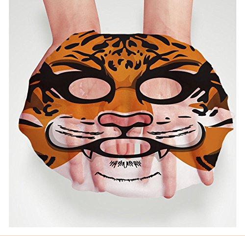 YANQINA Animal Facial Mask Long Lasting Moisturizing Nourish Oil-control Face Care Make (Animal Face Mask)