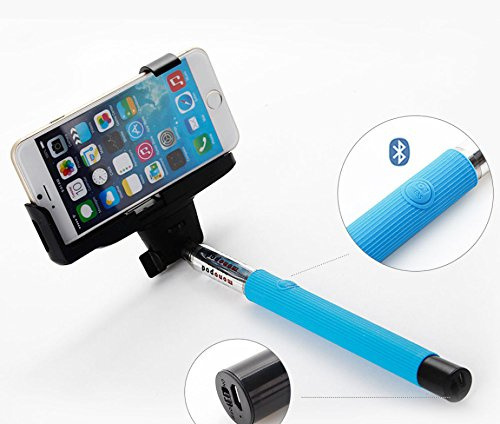 Selfie Stick Monopod with Build-in Bluetooth from A-Mire Offer Extendable Phone Holder with Bluetooth Shutters Remote Self-shooting Best for Travel for iPhone 6, iPhone 6 Plus, iPhone 5 5s 5c, Smartphone, Have the perfect picture Now! by Amire (Image #4)