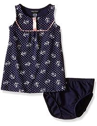 Baby Girls Anchor Print Tunic Dress