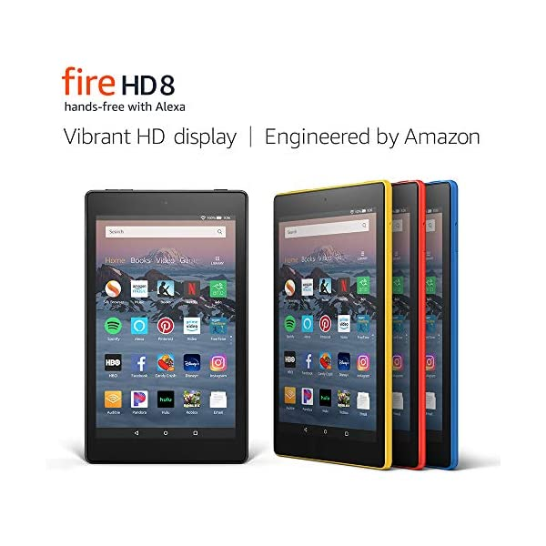 "Fire HD 8 Tablet (8"" HD Display, 16 GB) - Black (Previous Generation - 8th) 1"