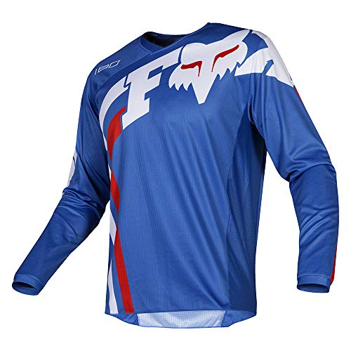 180 Blue Pant Fox - Fox Racing 2019 Youth 180 COTA Jersey-Blue-YS