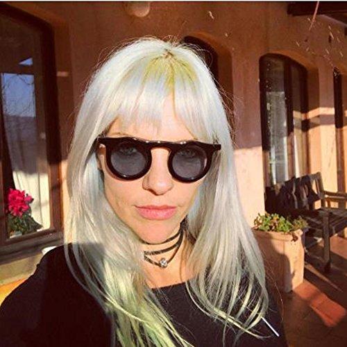 Peggy Conduite UV de de personnalité Soleil la de Lunettes pour Femmes des Protection Gu de Vacances des Rondes C4 rwXnEqTr