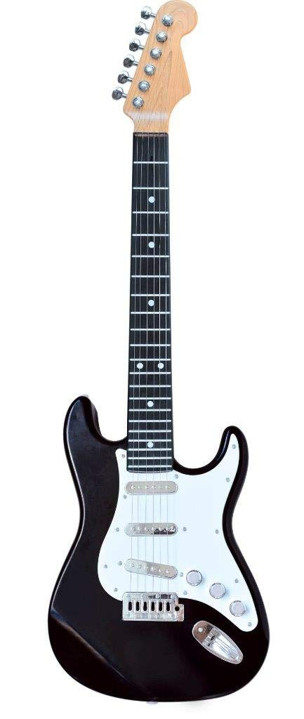 Lightahead Electronic Guitar with Sound and Lights 26 inch Guitar With Preset Music And Vibrant Sounds Fun Musical Guitar (Black) by Lightahead