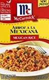 Mc Cormick Rice Mix Mexican 8 Oz Pack Of 12