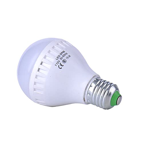 8 x Bombilla LED, bombilla LED 15 W, 110 V, 3200 K brillo