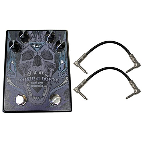 Black Arts Crown of Horns Effects Pedal w/ Patch Cables (Toneworks Pharaoh)
