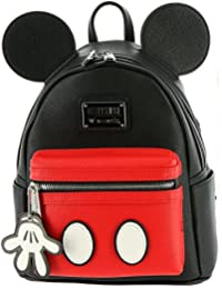 Mickey Mouse Faux Leather Mini Backpack Standard