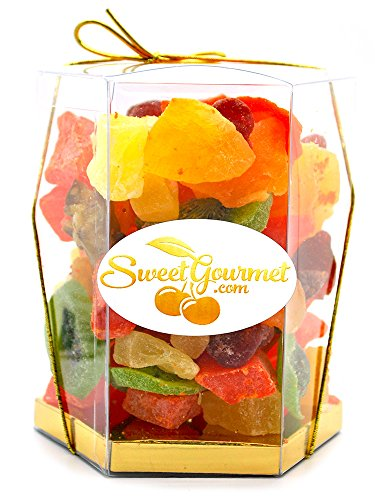 SweetGourmet Tropical Dried Fruit Salad (16oz GIFT BOX) by SweetGourmet (Image #4)