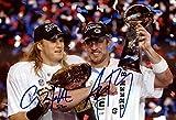 "Aaron Rogers, Clay Matthews ""Championship Belt"" Autograph Replica Poster - Packers"