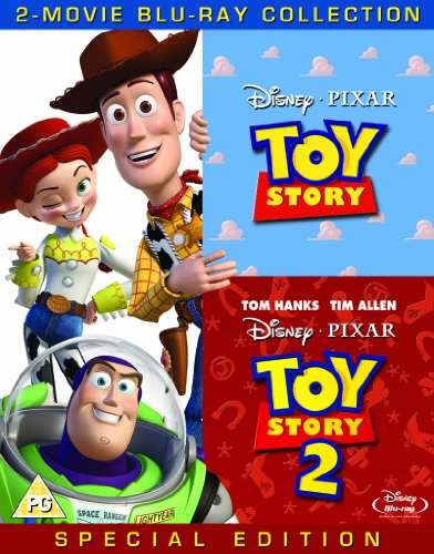 Toy Story 1 And 2 Blu Ray Combo Pack (Story Toy Box Set)