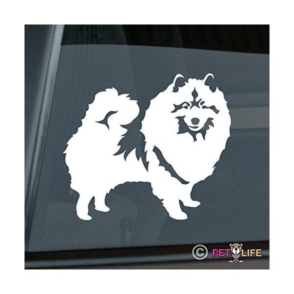 Mister Petlife Keeshond Sticker Vinyl Auto Window Kees 1