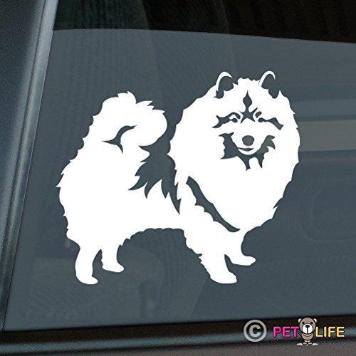 Keeshond Sticker Vinyl Auto Window kees