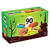 HERSHEY'S 90ct Assorted Halloween Chocolates- 995g- Includes Reese, OH Henry! and HERSHEY'S Snack Sized Candy Bars