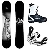 System Timeless and Summit Complete Men's Snowboard Package New 2018
