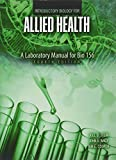 img - for Introductory Biology For Allied Health: A Laboratory Manual for Bio 156 book / textbook / text book