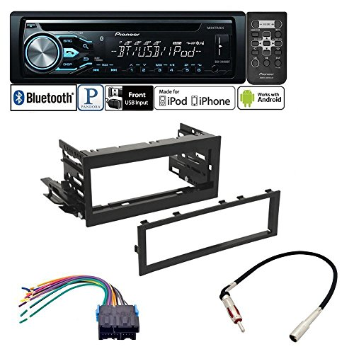 PIONEER CAR STEREO RADIO CD PLAYER DASH INSTALL MOUNT HARNESS ANTENNA FOR CADILLAC CHEVROLET GMC by PIONEER , AMERICAN INTERNATIONAL , METRA, SCOSCHE