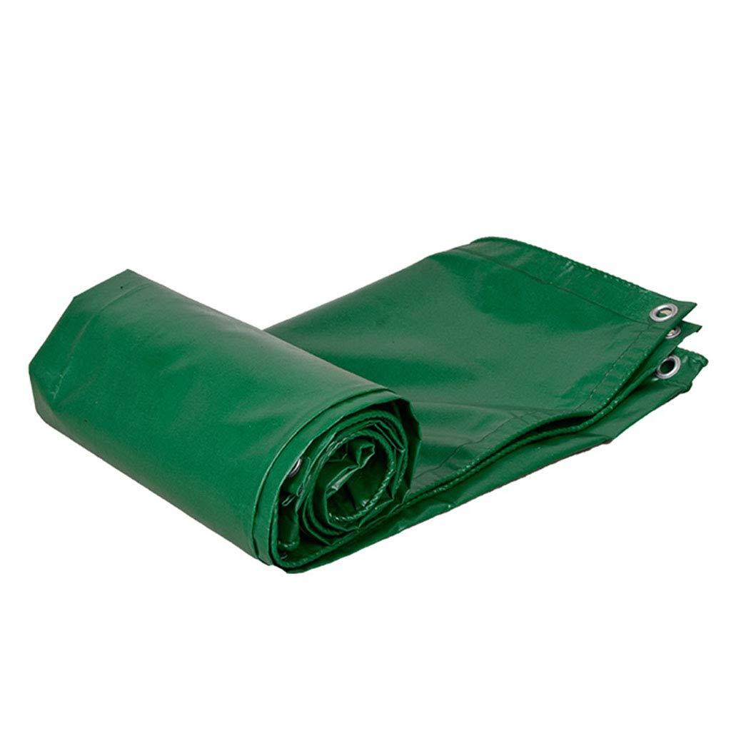 YX-Planen Starke PVC-Plane Reversible Waterproof 100% UV-geschützt - Grün Sunshade Tarp Bodenhüllen mit hoher Dichte - Dicke 0,4 mm, 500 g m²