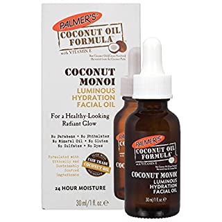 Palmer's Coconut Oil Formula Coconut Monoi Luminous Hydration Facial Oil | 1 Ounce