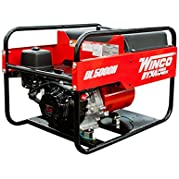 Winco DL5000H Industrial DYNA Portable Generator, 5,000W Maximum, 200 lb.