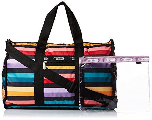 LeSportsac Gym Duffel Duffle Bag, Wide Ruled, One Size