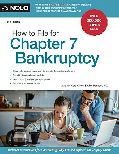 How to File for Chapter 7 Bankruptcy by NOLO