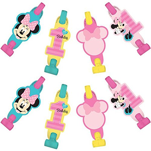 (Minnie Mouse 1st Birthday 'Fun to Be One' Blowouts / Favors)