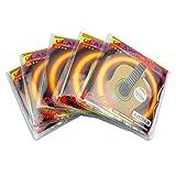 Alice A107BK-H Classical Guitar Strings Black Nylon String Set 5 Pack