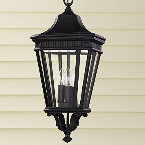 Outdoor Pendant Cotswold Lane (Feiss Cotswold Lane Outdoor Hanging Lantern - 21.5H in.)