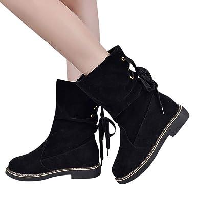 Damen Halten Stiefel Warme Boots Winterschuhe Frauen 1TKJlFc