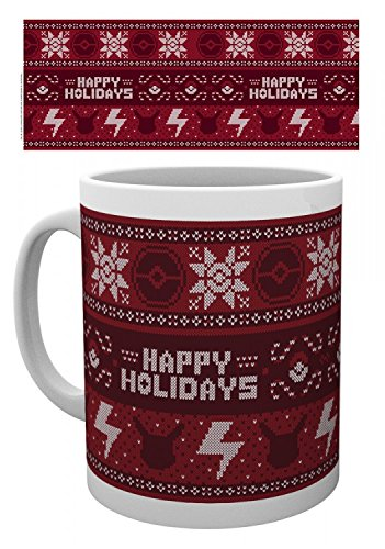 Nintendo Wii Jumper - Pokemon Photo Coffee Mug - Xmas Jumper Pikachu (4 x 3 inches)