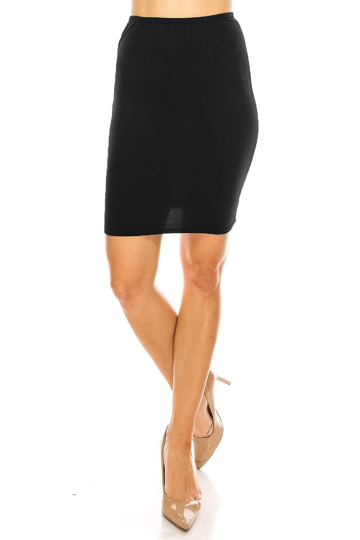 ae55d7566f0 Plus Size Midi Straight Skirt - Gomes Weine AG