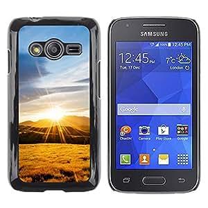 iKiki Tech / Estuche rígido - Nature Mountain Sunset - Samsung Galaxy Ace 4 G313 SM-G313F