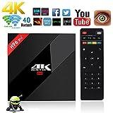 NBKMC 4K TV Box Android 7.1 3G+32G Scatola intelligente H96 Pro+ Plus CPU Amlogic S912 Octa-core 64 bit con wifi smart set-top Scatola box Bluetooth 4.1 e True 4K Playing