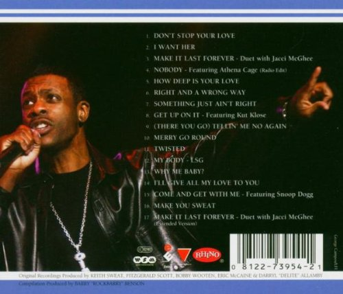 Keith Sweat - Best Of Keith Sweat, The: Make You Sweat - Amazon ...
