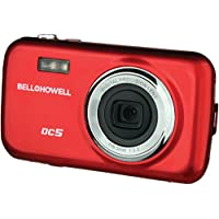 Bell+Howell DC5-R 5MP Digital Camera with 1.8-Inch LCD (Red)