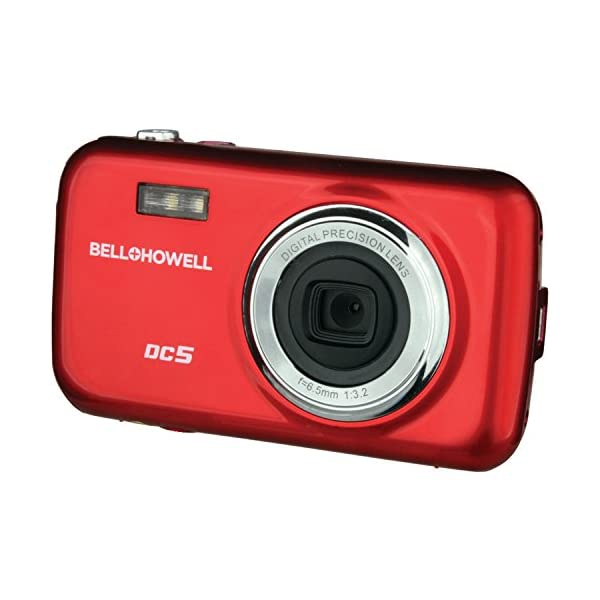 51VqITiJzGL. SS600 - Bell+Howell DC5-R 5MP Digital Camera with 1.8-Inch LCD (Red)