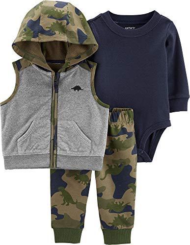 Carter's 3-Piece Camo Little Vest Set (24 Months)