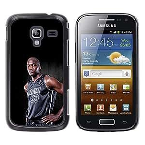 Miami 50 Baloncesto - Metal de aluminio y de plástico duro Caja del teléfono - Negro - Samsung Galaxy Ace 2