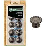 Liberty Hardware 1-3/8 In. Harmon Heirloom Silver Cabinet Knob (10-pack)