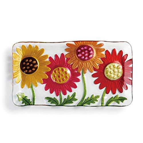 Daisy Platter (DEMDACO Gerber Daisies Platter, 15 x 8)