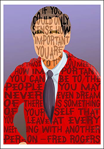 (Fred Rogers quote mini-print)