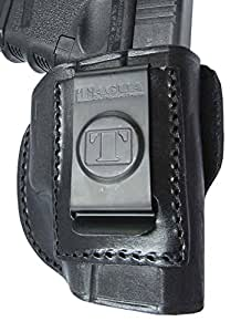 Tagua 4-in-1 Holster for Glock 17/22/31, Black/Brown, Right