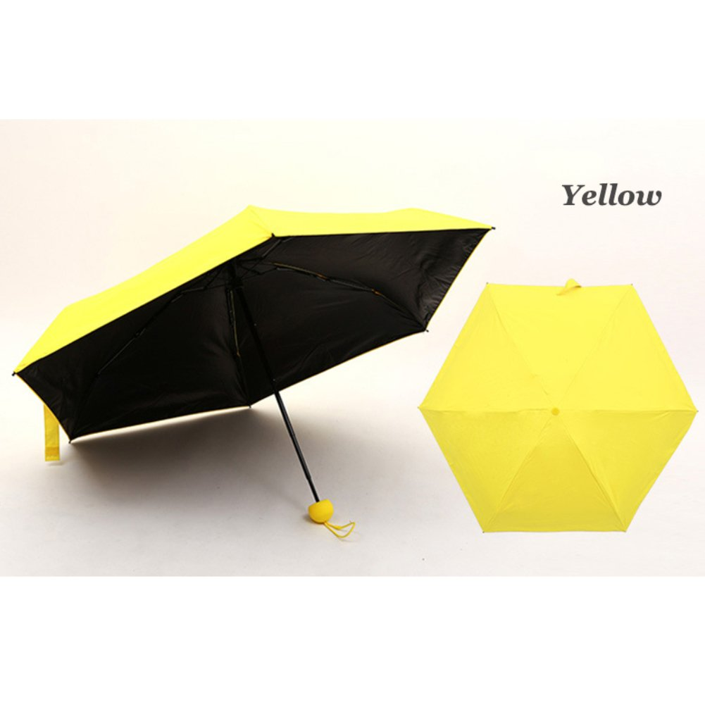Amazon.com : Connoworld Portable Cute Mini Capsule Umbrella Anti-UV Sun Umbrella, Ultra Lightweight Windproof Folding Compact Pocket Umbrella : Garden & ...