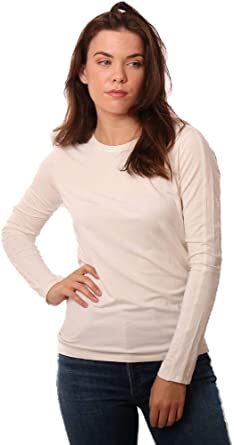 In Cashmere Sweaters Crew Neck Long Sleeve Fine Knit Ivory