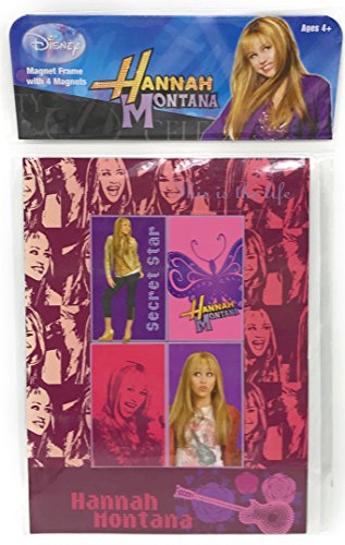 - Hannah Montana Magnet Frame with Four Magnets
