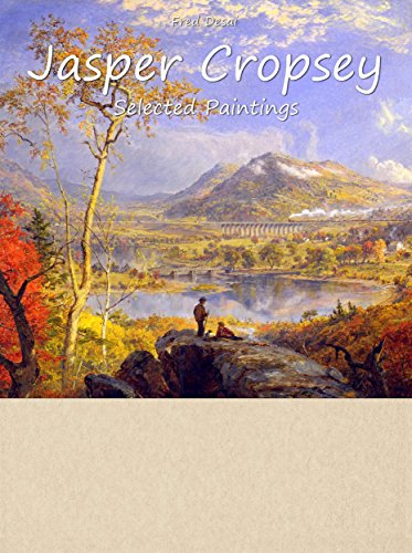 Jasper Cropsey:  Selected Paintings (Colour Plates)