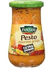 Panzani Sauce Pesto aux Poivrons Grillés 190 g