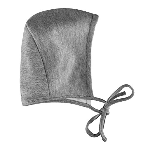 Amoureux Bebe Ultra Soft Comfort Turkish Cotton Grey Tagless Baby Bonnets Hats.