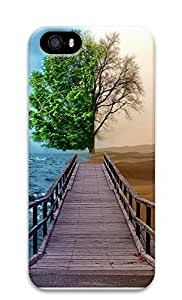 Case For Sam Sung Note 3 Cover Landscapes tree 2tone dock 3D Custom Case For Sam Sung Note 3 Cover